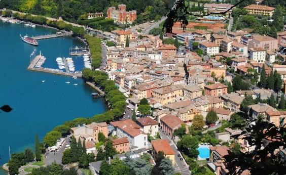 Garda town by Lake Garda