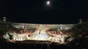 Aida, 300+ á sviðinu í Arenunni.
