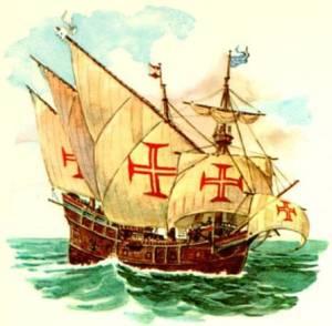 Portúgalska krossinum er oft ruglað saman við kross Frímúrara.
