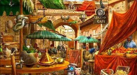 Marokkóskur markaður