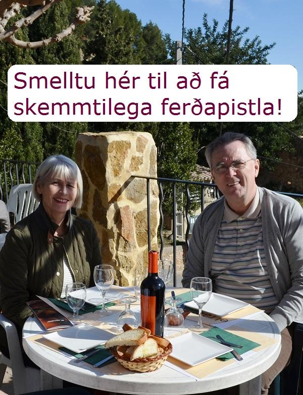 Skráðu þig á póstlista Fararsniðs