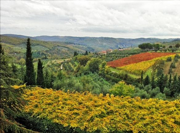 Toscana, fegurðin engu lík.