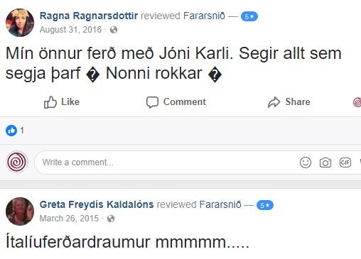 Umsögn - Ragna og Gréta