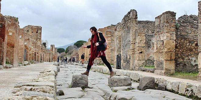 Gangbraut í Pompei