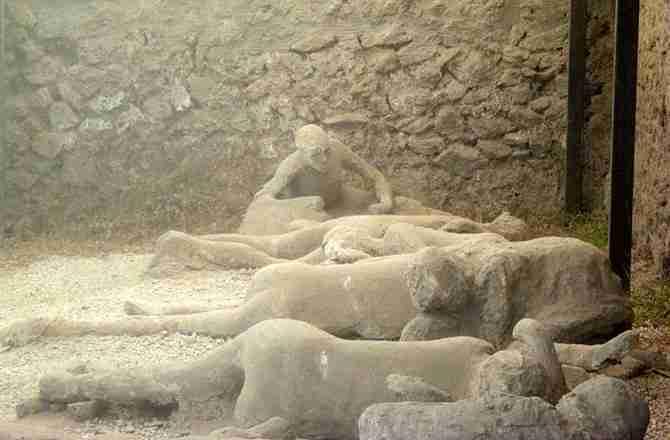 Lík í Pompei